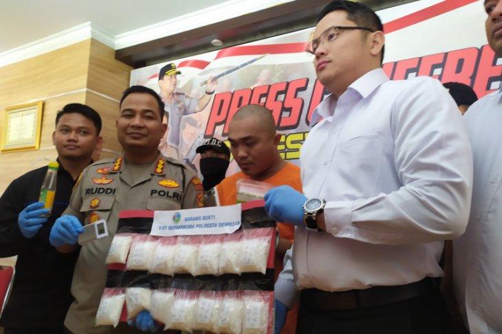 Polresta Denpasar tangkap pengedar sabu dari Medan