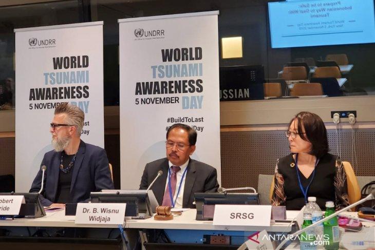 BNPB envoy attends World Tsunami Awareness Day
