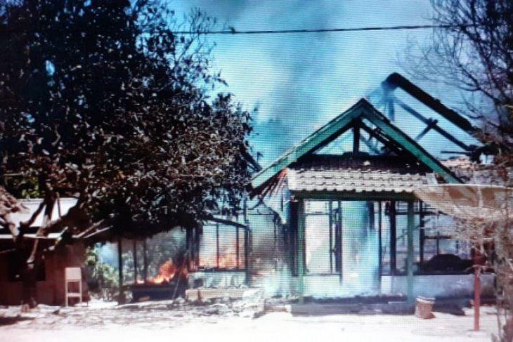 Kebakaran rumah kembali terjadi akibat korsleting listrik