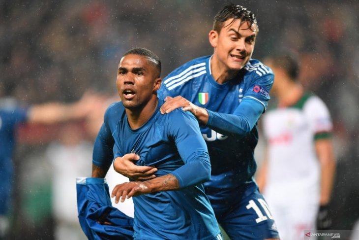 Liga Champions, Juve amankan tiket fase gugur setelah kalahkan Lokomotiv