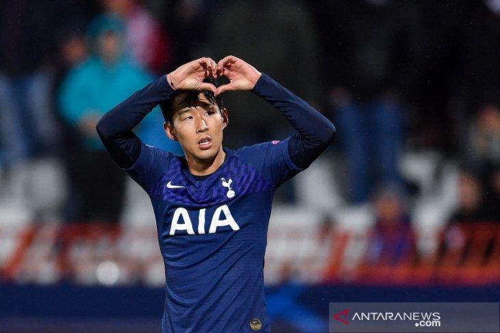 Liga Champions, dwigol Son bantu Spurs tundukkan Red Star dan dekati 16 besar
