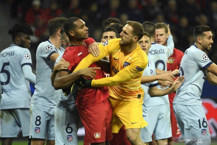 Atletico gagal amankan tiket fase  gugur setelah dikalahkan Leverkusen