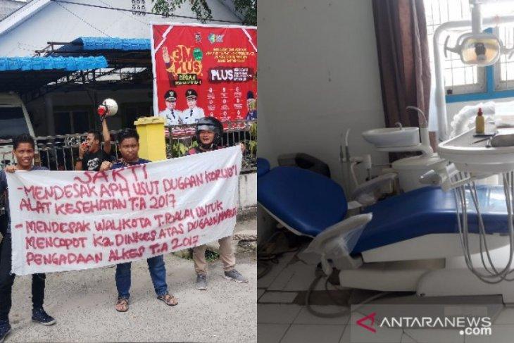 SAKTI duga pengadaan alat kedokteran gigi Dinkes Tanjungbalai merugikan negara