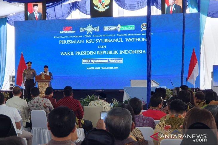 Wapres: Intoleransi, radikalisme harus dihilangkan agar Indonesia maju