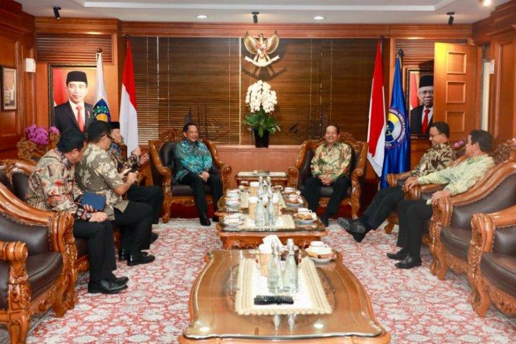 Gubernur Gorontalo dan perwakilan APPSI temui Mendagri