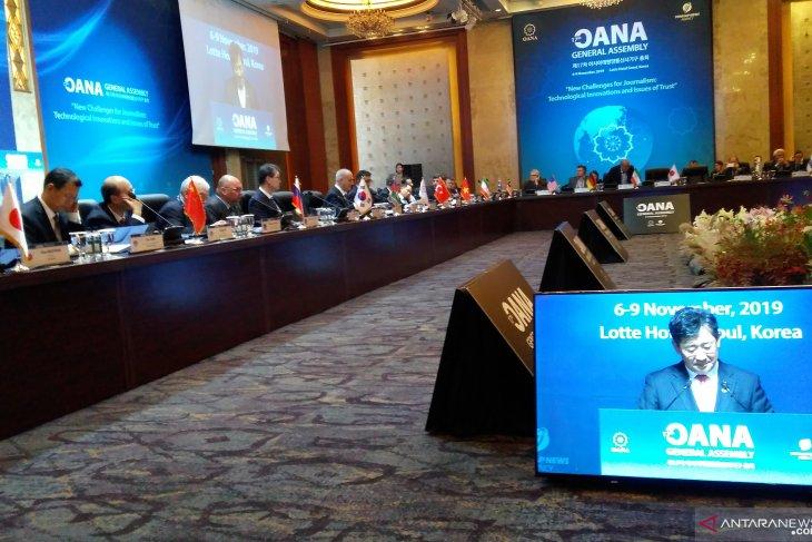 South Korea urges OANA to counter hoax, fake news