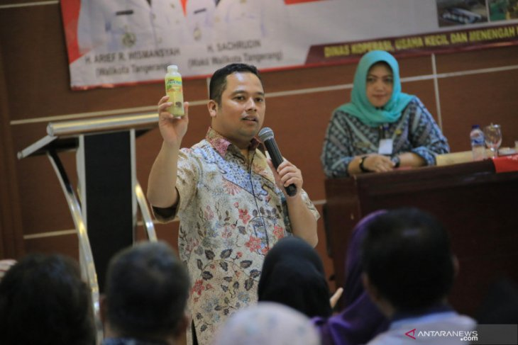 Tingkatkan daya saing dan mandiri, UMKM Kota Tangerang didorong kreatif