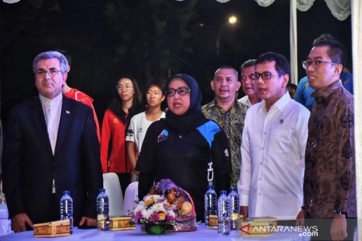 Bupati Bogor minta Menpora dukung Stadion Pakansari jadi tuan rumah Piala Dunia 2021
