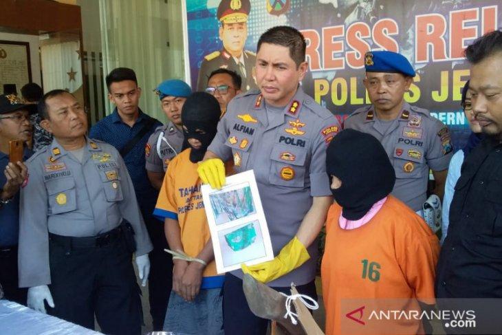 Polisi tetapkan istri dan anak korban tersangka pembunuhan dicor