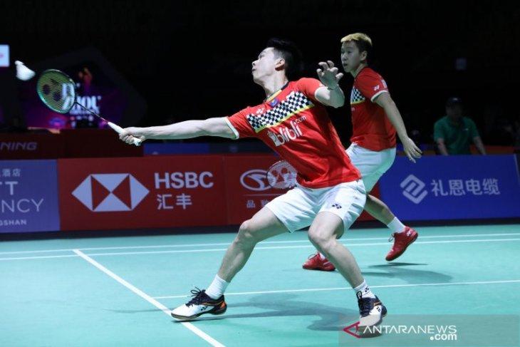 Masuk semifinal Fuzhou China Open, Marcus/Kevin tingkatkan fokus