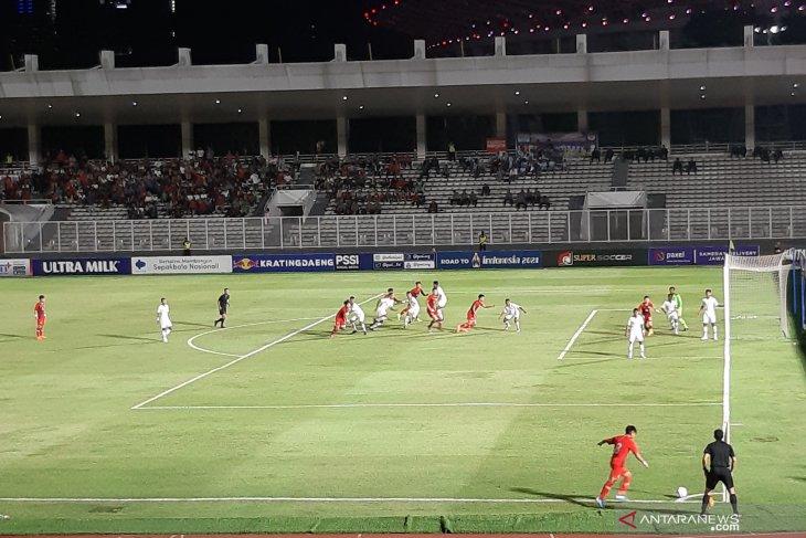 Indonesia ungguli Hong Kong 2-0 babak pertama