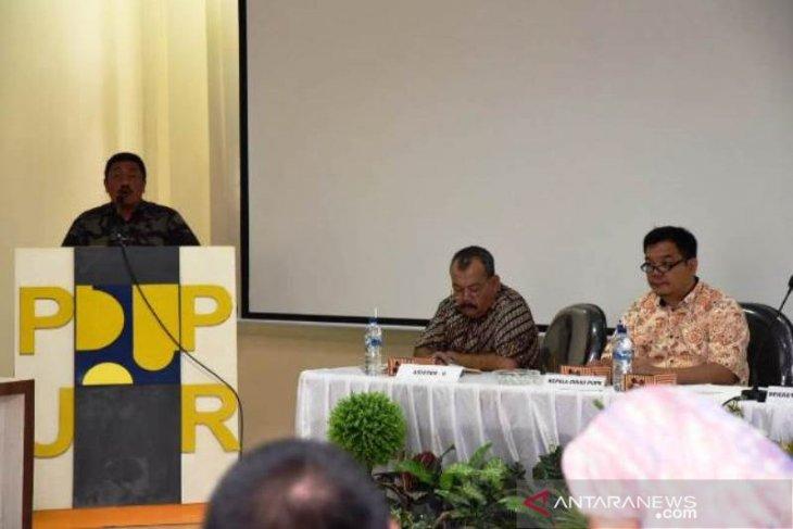 PUPR Tapsel gelar FGD susun naskah akademik Perda Gedung