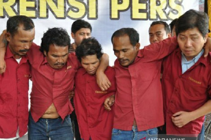 Ini dia otak pelaku dan eksekutor pembunuhan dua aktivis di Labuhanbatu