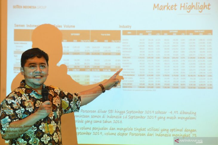 Semen Indonesia optimalkan ekspor antisipasi tekanan pasar domestik