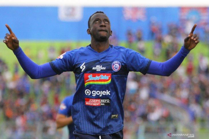 Tekuk Madura United, Arema FC tembus lima besar