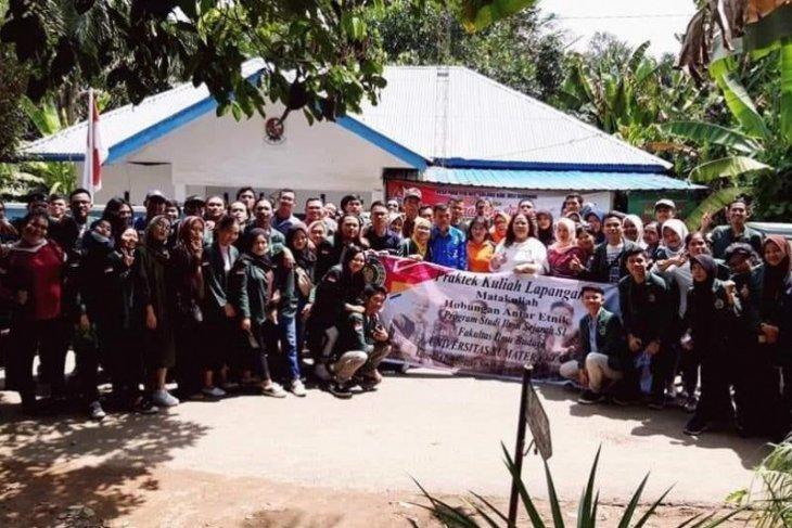 Mahasiswa Prodi Sejarah USU PKL hubungan antar etnis di Deliserdang
