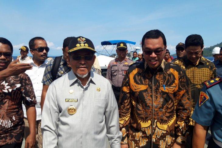 Gubernur Malut  Kontribusi Perinus gairahkan pengembangan potensi perikanan