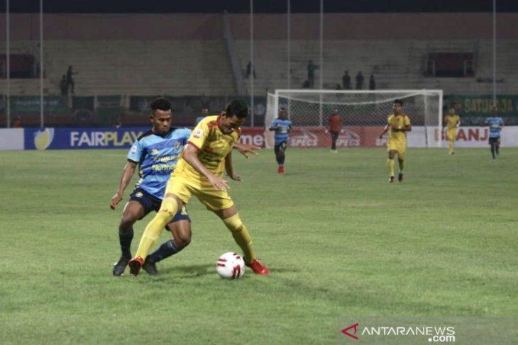 Pelatih Sriwijaya FC Kas Hartadi tetap evaluasi tim meski menang atas Persewar