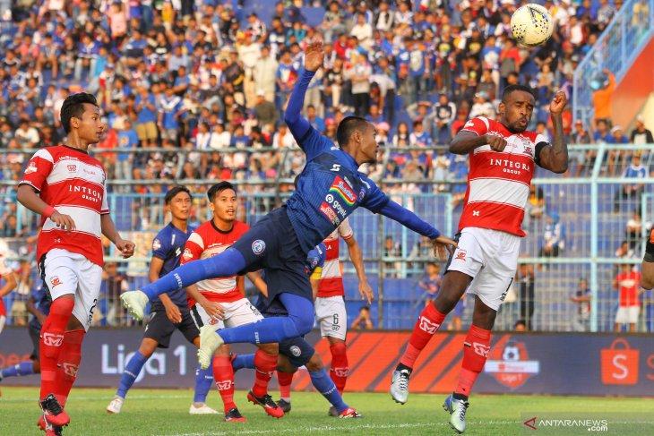 Arema taklukkan Madura United