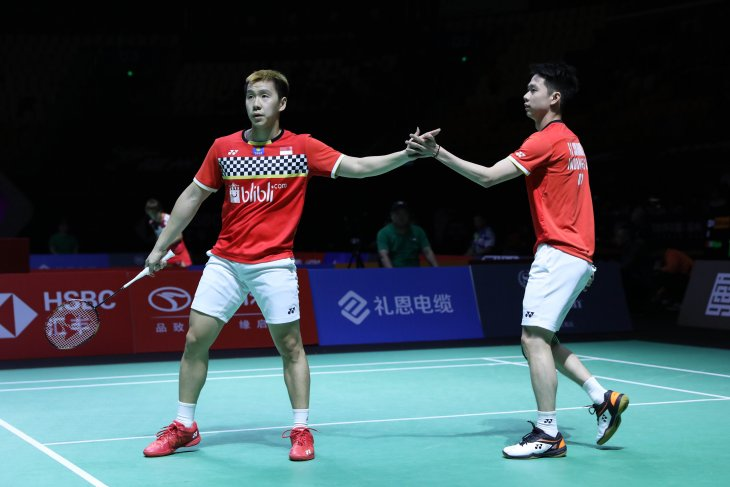 Minions jumpa Rankireddy/Shetty di semifinal Fuzhou China Open