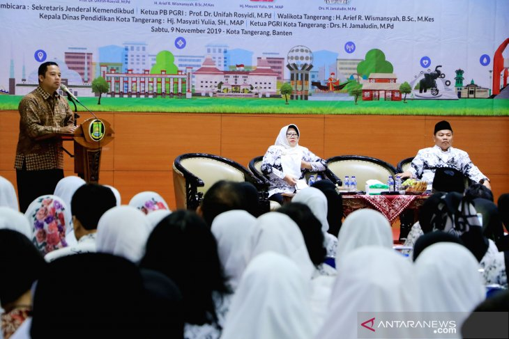 Wali Kota: Guru harus berkompetensi tinggi di era industri 4.0