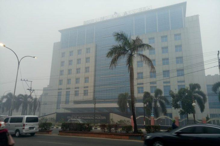 Kabut asap kembali meliputi beberapa daerah di Sumsel