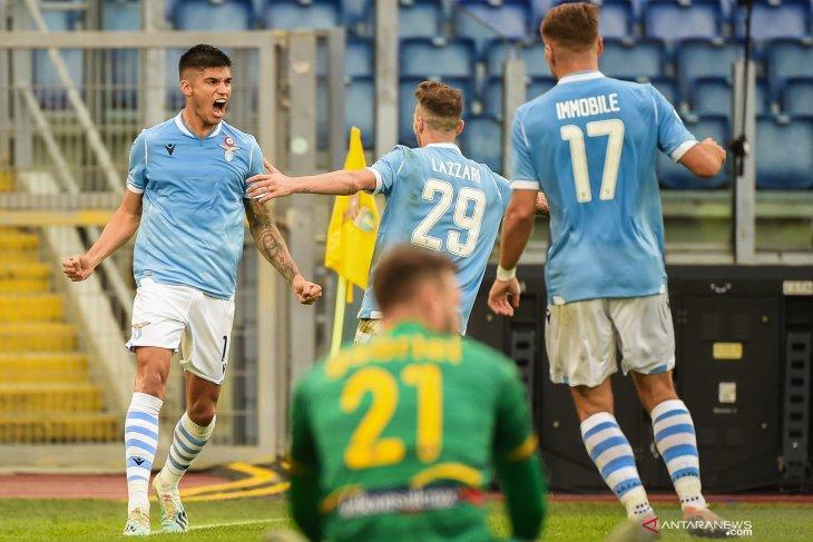 Liga Italia, Lazio naik ke peringkat ketiga setelah kalahkan Lecce