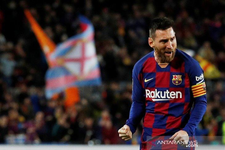 Liga Spanyol, trigol Messi menangkan Barcelona atas Celta Vigo