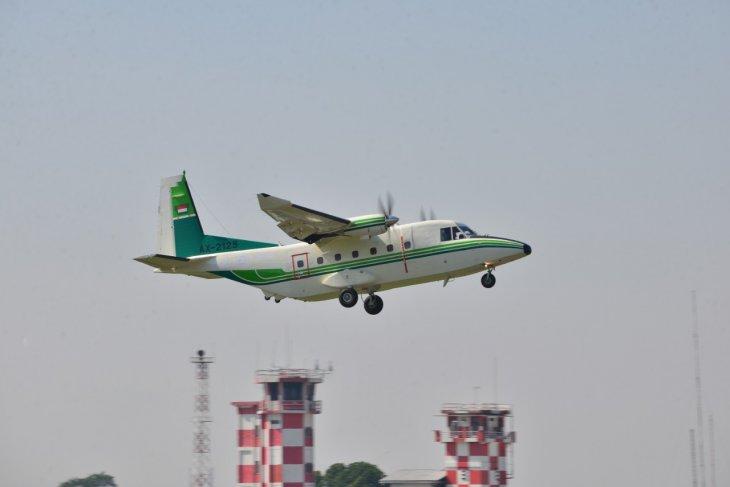 PTDI terbangkan satu unit pesawat NC212i pesanan MOAC Thailand