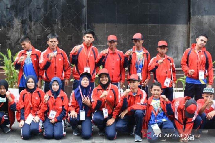 Para atlet Peparpenas Aceh lolos klasifikasi