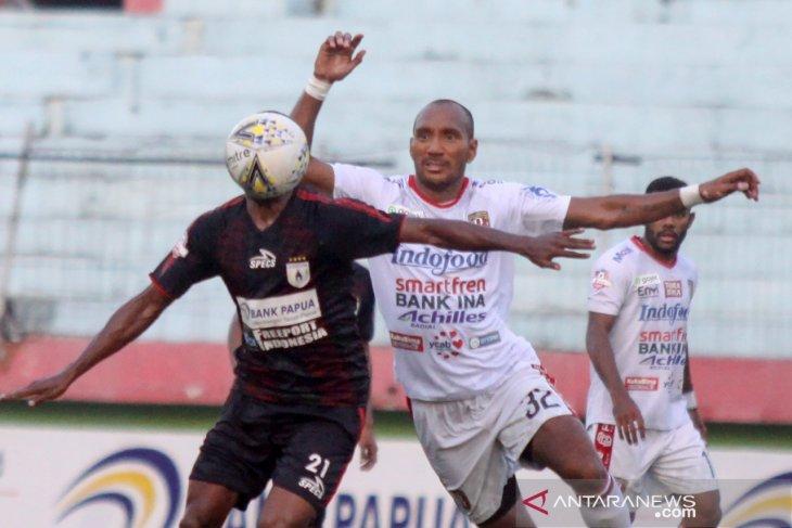 Hasil Liga 1: Persipura ditahan Bali United, Jacksen Tiago puas tempati