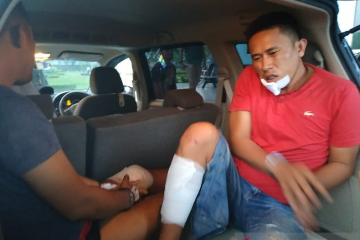 Empat perampok nasabah bank ditembak Polres Tanjungpinang