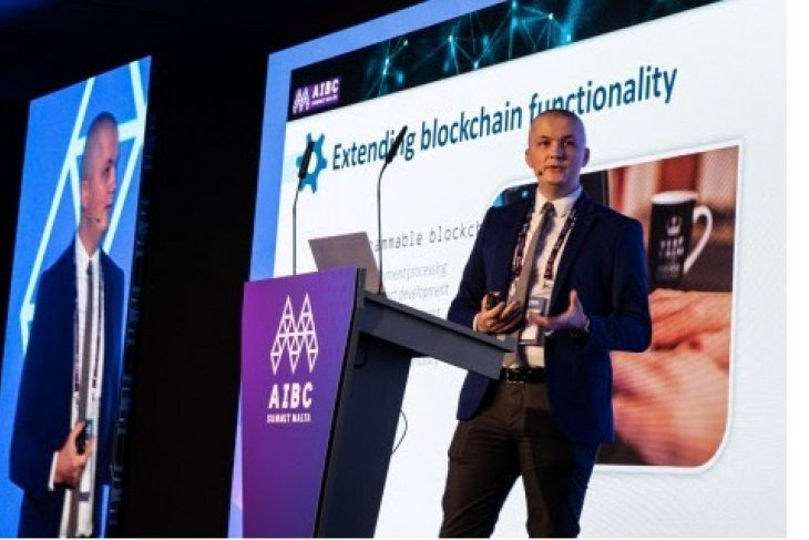 aBey blockchain co-creator Dr. Ciprian Pungila delivers keynote address on opening day of Malta Blockchain Summit 2019
