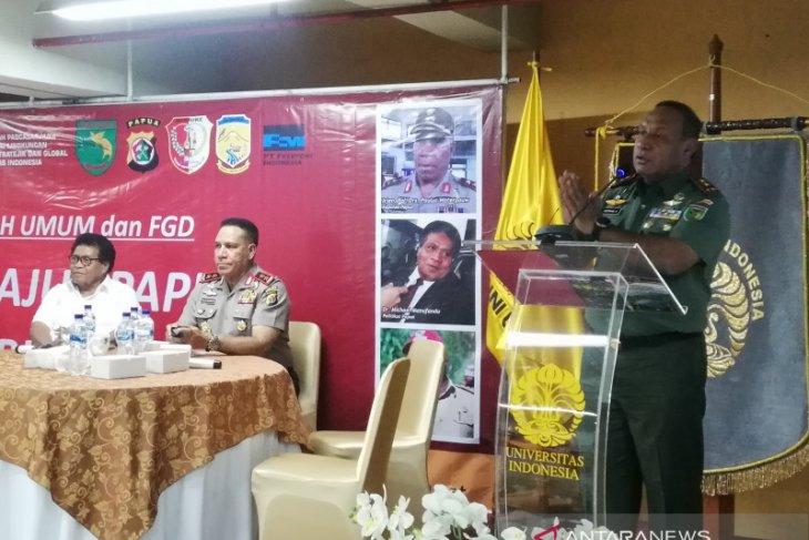 Pangdam: Tangani persoalan Papua, Pakai