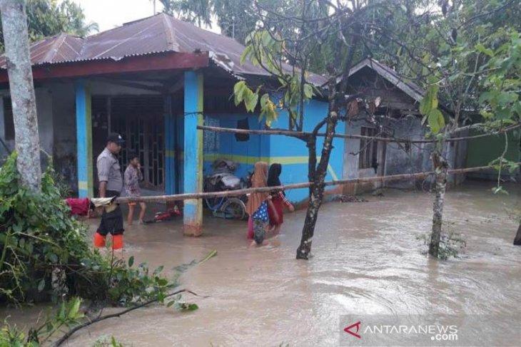Sejumlah desa di Aceh Utara banjir