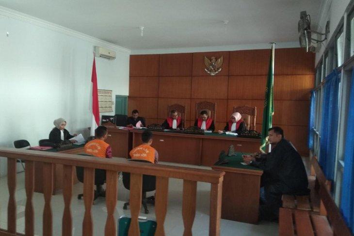 Tiga terdakwa penjualan satwa dilindungi dituntut satu tahun penjara