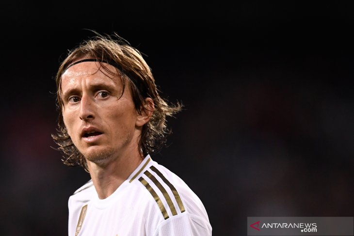 Gelandang Real Madrid Modric buka peluang untuk bermain di Italia