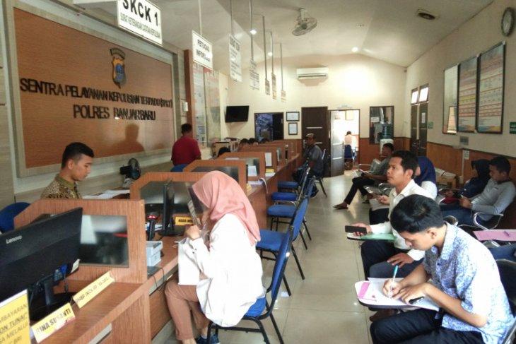 Penjagaan di Mapolres Banjarbaru ditingkatkan