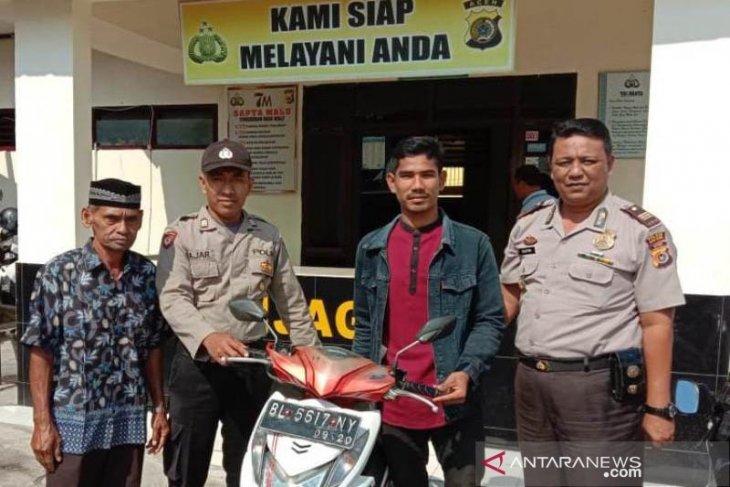 Sepmor tersembunyi di kebun tebu Aceh Utara ternyata hasil curian
