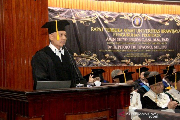 Universitas Brawijaya kukuhkan dua guru besar