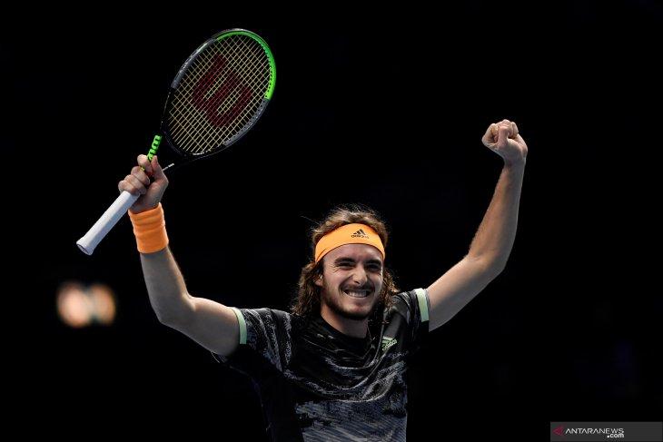 ATP Finals 2019: Tsitsipas tembus final setelah tundukkan Federer
