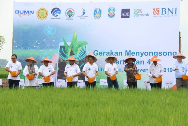BNI terapkan Smartfarming untuk sejahterakan petani
