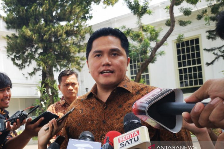 Erick Thohir moves fast to implement Jokowi's mission