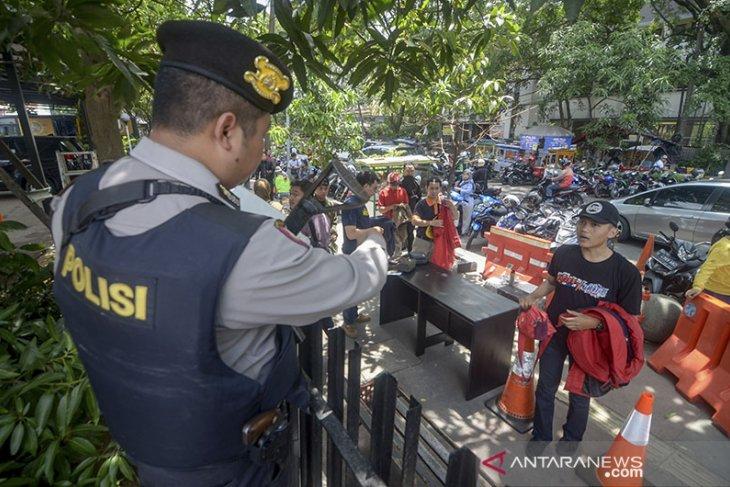Polrestabes Bandung Perketat Kemanan