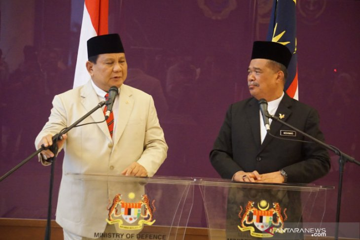 Prabowo Subianto visits Malaysia