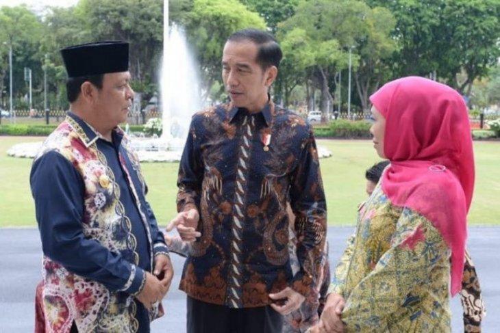 Gubernur temui presiden bahas peresmian Bandara Syamsuddin Noor