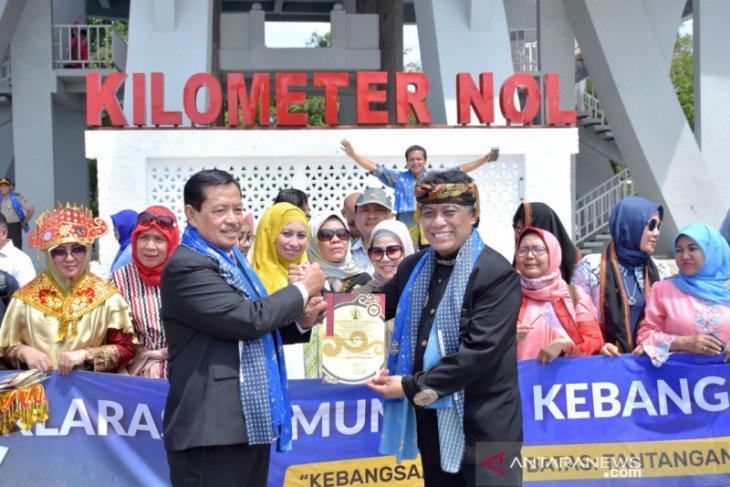 Pemko Sabang apresiasi deklarasi komunikasi kebangsaan di kilometer nol