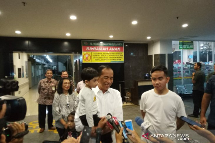 Ketua MPR tengok cucu ketiga Presiden Jokowi