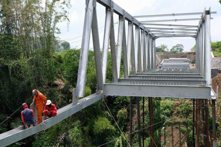 Pembangunan konstruksi jembatan