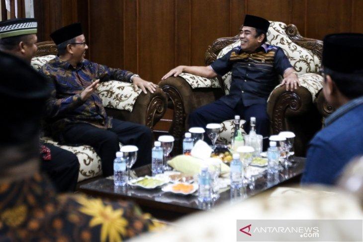 Menteri Agama RI Fachrul Razi tiba di tanah Serambi Mekkah